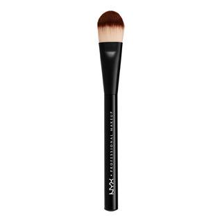 Brochas Maquillaje Profesional Rostro Flat Foundation Nyx