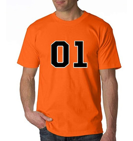 Camiseta Estampada 01 Dukes De Hazzard General Lee