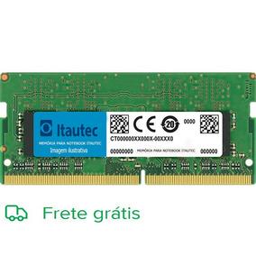 Memória 2gb Para Notebook Itautec W7650 Mm5uc