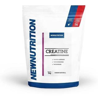 Creatina Monohidratada 1kg Maxima Absorção - Suplemento Newnutrition