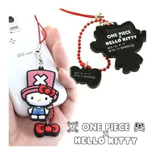 Sanrio Hello Kitty X One Piece Goma Mascota Teléfono Celular