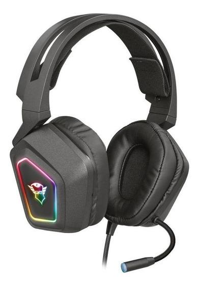 Headset Gamer Trust Gxt Blizz 71 Rgb Com Fio Pc