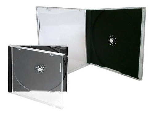 Estuches- Cajas Slim Porta Cds  100 Unidades