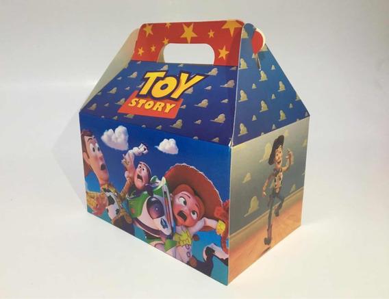 Cajita Feliz Personajes Toy Story Lol Peppa, Etc. (pack X25)
