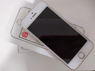 iPhone 5s 16gb Em Perfeito Estado Dourado
