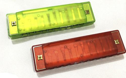 Rowell L417 Armonica Blusera Colores Estuche