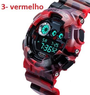 Relógio Modelo G Shok Com Nota 100% A Prova D Aguas Rf