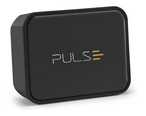 Imagem 1 de 7 de Caixinha Som Pulse Bluetooth Festa Piscina Música Prova Água