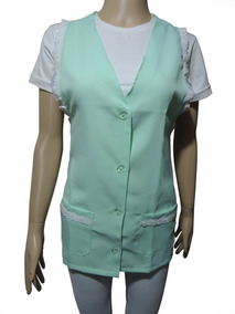 Avental Jaleco Oxford Com Lese Xg Plus Size Professora