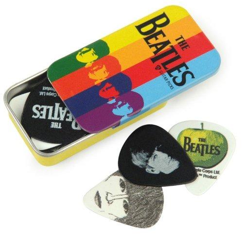 Lata Para Puas De Guitarra Ondas Planetarias De Firma Beatle