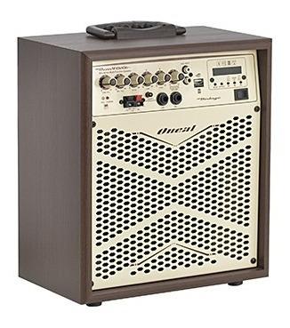 Caixa Oneal Multiuso Amp Ocm 4010 Usb/sd/fm/bluetooth 120wts