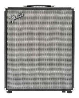 Amplificador Fender Rumble 200 200W transistor negro y plata 220V