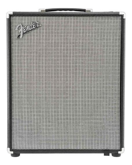 Amplificador Fender Rumble 200 Transistor 200W negro y plata 220V