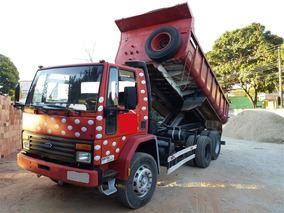 Ford Cargo 1415 Ano 1997 C/ Caçamba Facchini 10m³ R$ 58.900