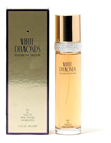 Imagen 1 de 4 de Elizabeth Taylor White Diamonds Edt Spray 33 Oz Frgldy