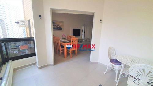 Imagem 1 de 22 de Apartamento Com 2 Dormitórios À Venda, 106 M² Por R$ 477.000,00 - Praia Das Pitangueiras - Guarujá/sp - Ap3210