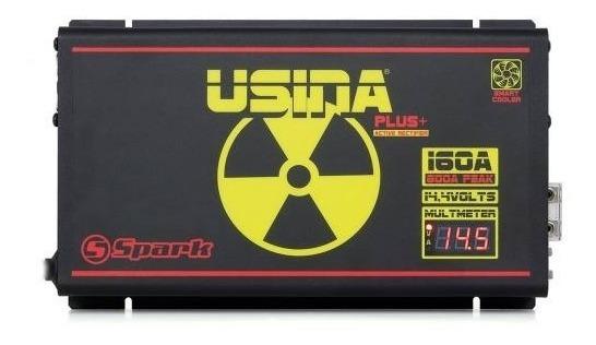 Fonte Automotiva Digital Spark Usina 160a -14.4v Bivolt Full