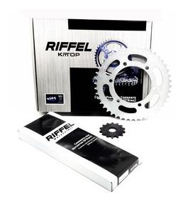 Kit Relação Transmissão Yzf R3 / Mt03 Riffel C/ret Aço 1045
