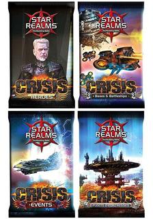 Star Realms Crisis Juego De Mesa Cartas Expansiones Lelab