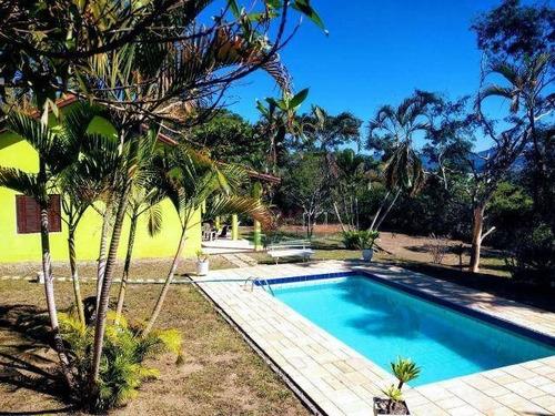 Imagem 1 de 8 de Chácara Com 3 Dormitórios À Venda, 22000 M² Por R$ 580.000 - Ouro Fino - Santa Isabel/sp - Ch0414
