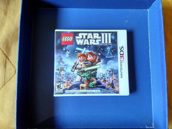 Star Wars Iii Lego Nintendo 3ds - Perfeito - Frete R$9,00
