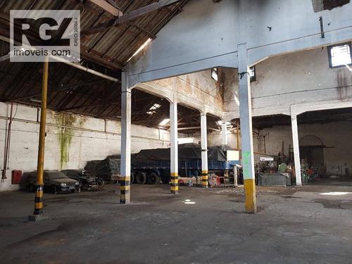 Imagem 1 de 26 de Galpão  Comercial Para Locação No Centro De Santos. - Ga0011