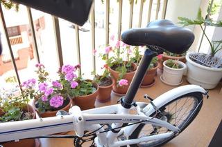 Bicicleta Tern C7 Blanca