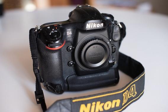 Câmera Nikon D4 Corpo