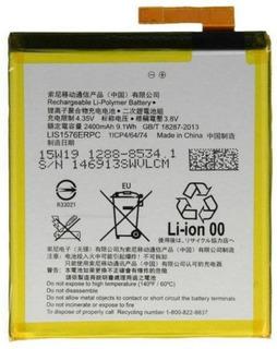 Bateria Sony Xperia M4 Aqua Lis1576erpc 2400 Mah ® Ty