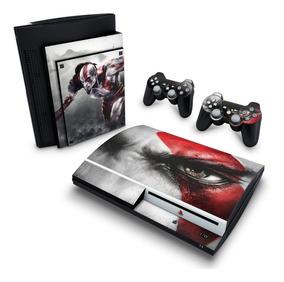 Skin Ps3 Fat Adesivo Playstation 3 God Of War #032