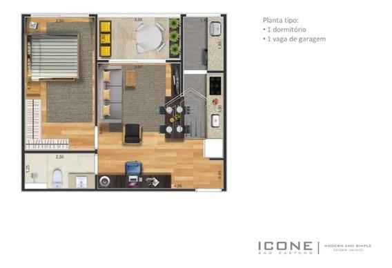 Apartamento Padrão Em Condomínio Padrão Para Venda No Bairro Nova Gerty - 12258usemascara
