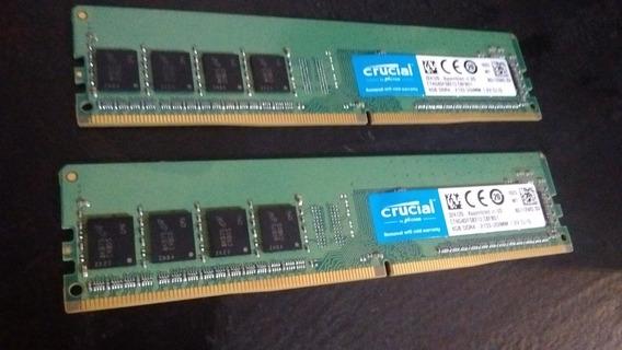 Memorias Ram Crucial 4g Ddr 4- 1200
