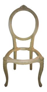 Estructuras / Esqueleto Silla Estilo Luis Xv Medallon