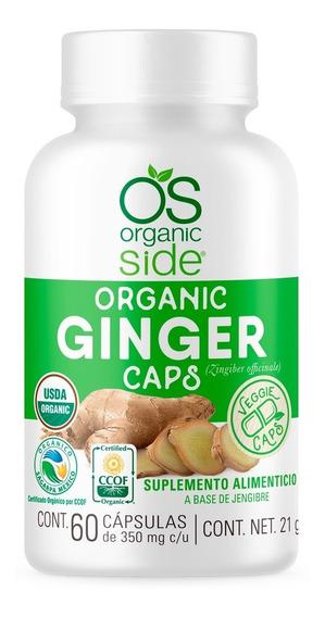 Ginger Gengibre Orgánico 60 Cápsulas