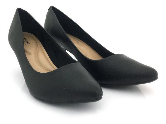 Zapato Stiletto Mujer Vestir Taco Bajo Comodo Massimo Chiesa