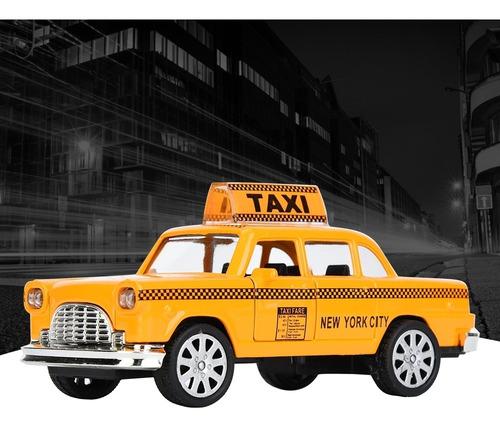 1:32 Liga Taxi Simulação Veículo Modelo Brinquedo Para Pr