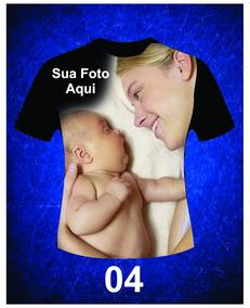 Kit Com 10 Camiseta Personalizada Com Foto 3d Ou A3