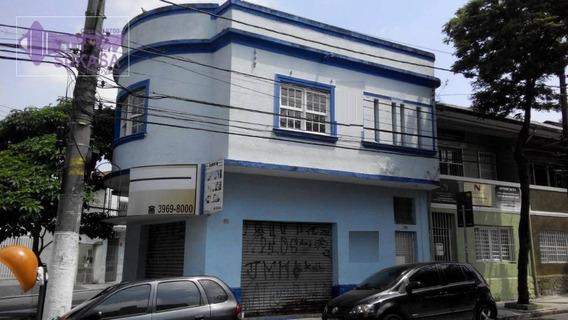 Salão À Venda, 200 M² Por R$ 1.170.000 - Casa Branca - Santo André/sp - Sl0002