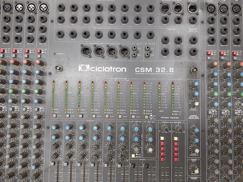 Mesa Ciclotron Csm 32.8! Harmônica Santana