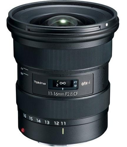 Lente Tokina Atx-i 11-16mm F/2.8 Cf Nikon-canon Modelo 2020!