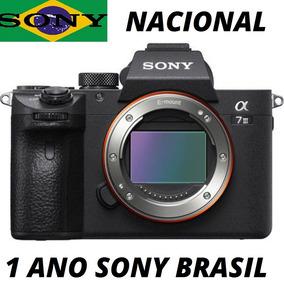 Camera Sony Nacional Alpha A73 A7iii Corpo Mirrorless 4k