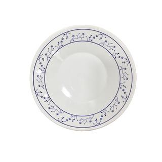 Plato Hondo Redondo Ceramica Biona Brasilia 22 Cm