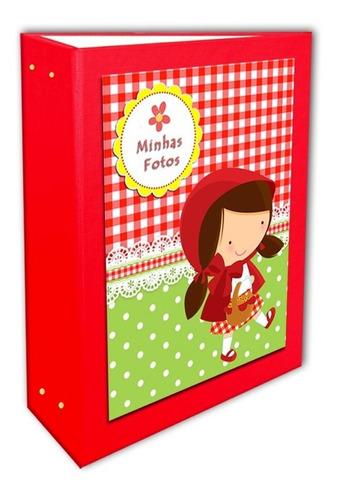 Album Chapeuzinho Vermelho 15x21- 200 Fotos +brinde Especial
