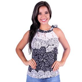 Blusa Feminina Estampada Voga Plus - Asya Fashion