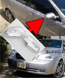 Cromado Con Led Retrovisor Chevrolet Optra (15)