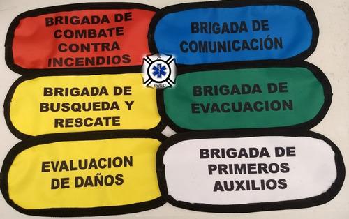 Imagen 1 de 3 de Brazalete Para Brigadista.