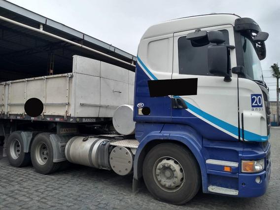Scania R440 6x2 Ano 2013 Autom. Retarder =volvo Fh 400 Axor