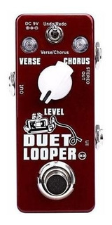 Pedal De Efecto Duet Looper Loop Mini Xvive D3 Guitarra