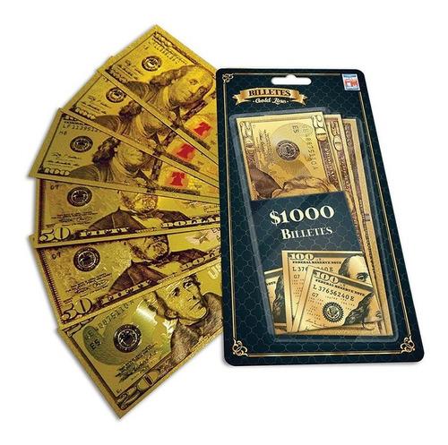 Juegos De Mesa Billetes Gold Usd 1193
