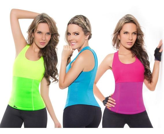 Musculosa Reductora De Mujer Para Gym